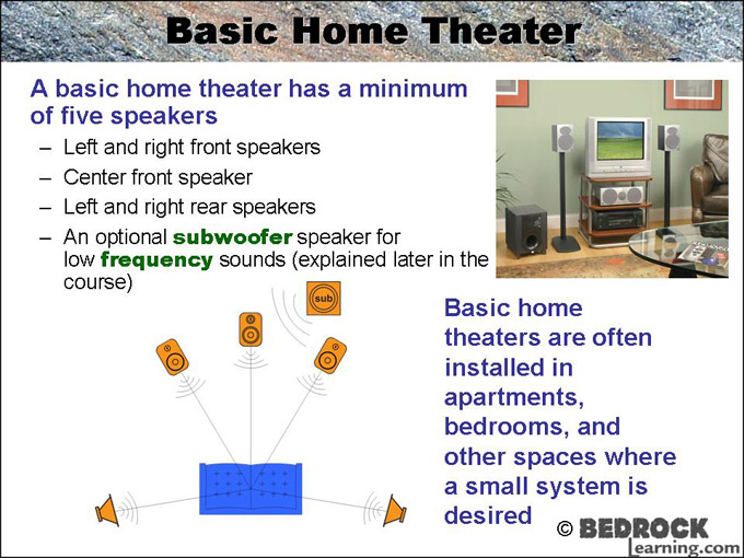Home theater design and installation bedrock learning - Home theater design and installation ...
